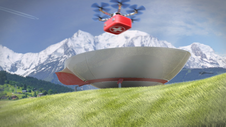 Drone, Dronepad, Rendu 3D, Intégration, APPI, ENSAL