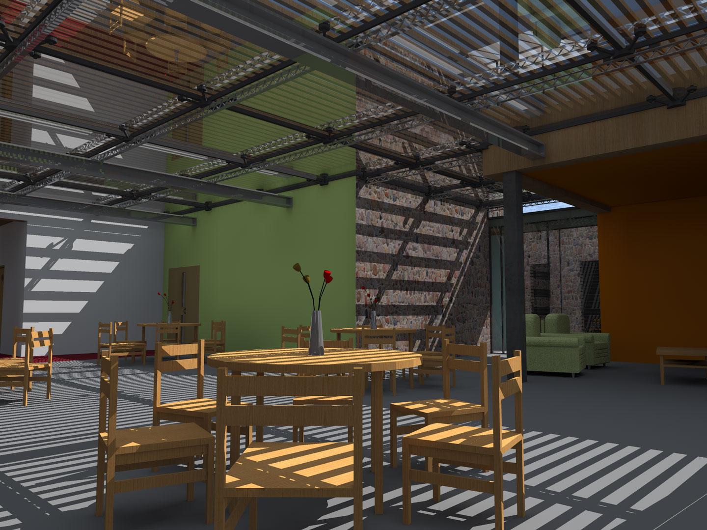 Architecture, EHPAD, Rendu 3D, ENSAL