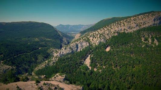 Pas de Jubéo, Drone, Hautes-Alpes, Video, Aerial footage